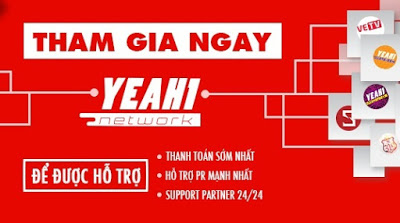 Join Yeah1 Network, Tham gia network yeah1, Dang ky network yeah1, Network yeah1