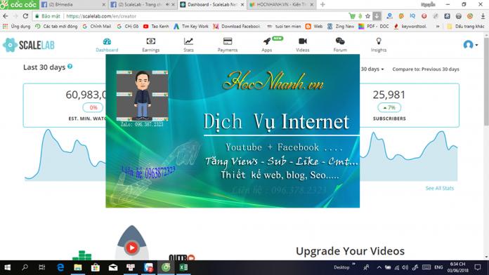 Huong dan cach mua Sub view Like Youtube
